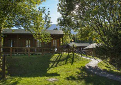 Bungalow Camping Vettore a Balzo di Montegallo sui Monti Sibillini
