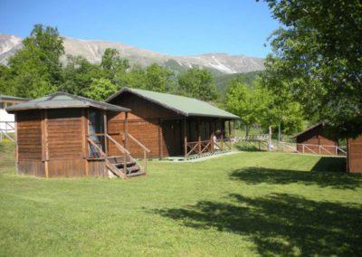 Bungalow Camping Vettore a Balzo di Montegallo sui Monti Sibillini11