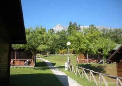 Bungalow Camping Vettore a Balzo di Montegallo sui Monti Sibillini9