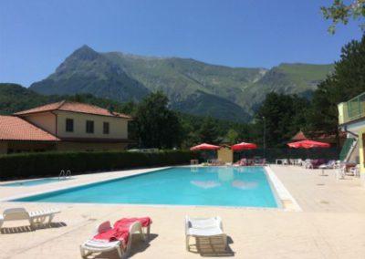 Piscina di Balzo di Montegallo sui Monti Sibillini