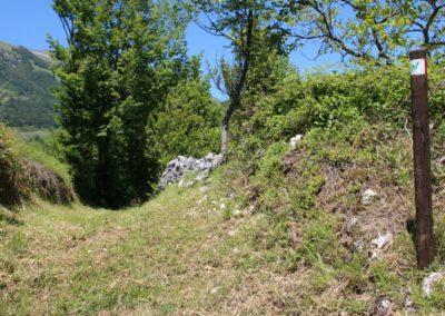 Trekking a Piedi a Montegallo sui Monti Sibillini21