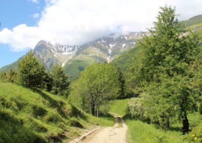 Trekking a Piedi a Montegallo sui Monti Sibillini3
