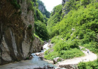 Trekking in Mountain Bike a Montegallo sui Monti Sibillini11