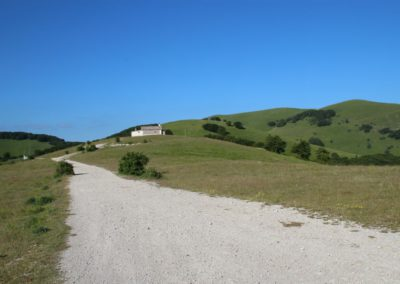 Trekking in Mountain Bike a Montegallo sui Monti Sibillini16