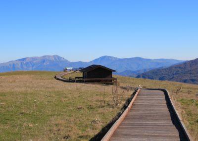 Trekking in Mountain Bike a Montegallo sui Monti Sibillini2