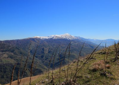 Trekking in Mountain Bike a Montegallo sui Monti Sibillini3