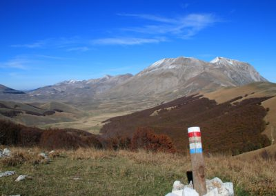 Trekking in Mountain Bike a Montegallo sui Monti Sibillini4